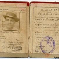 Carnet de lechero de Tomás Benítez Fleitas