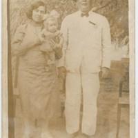 Agustín Santana Torres, Josefina Liria Pulido y Pino Santana Liria